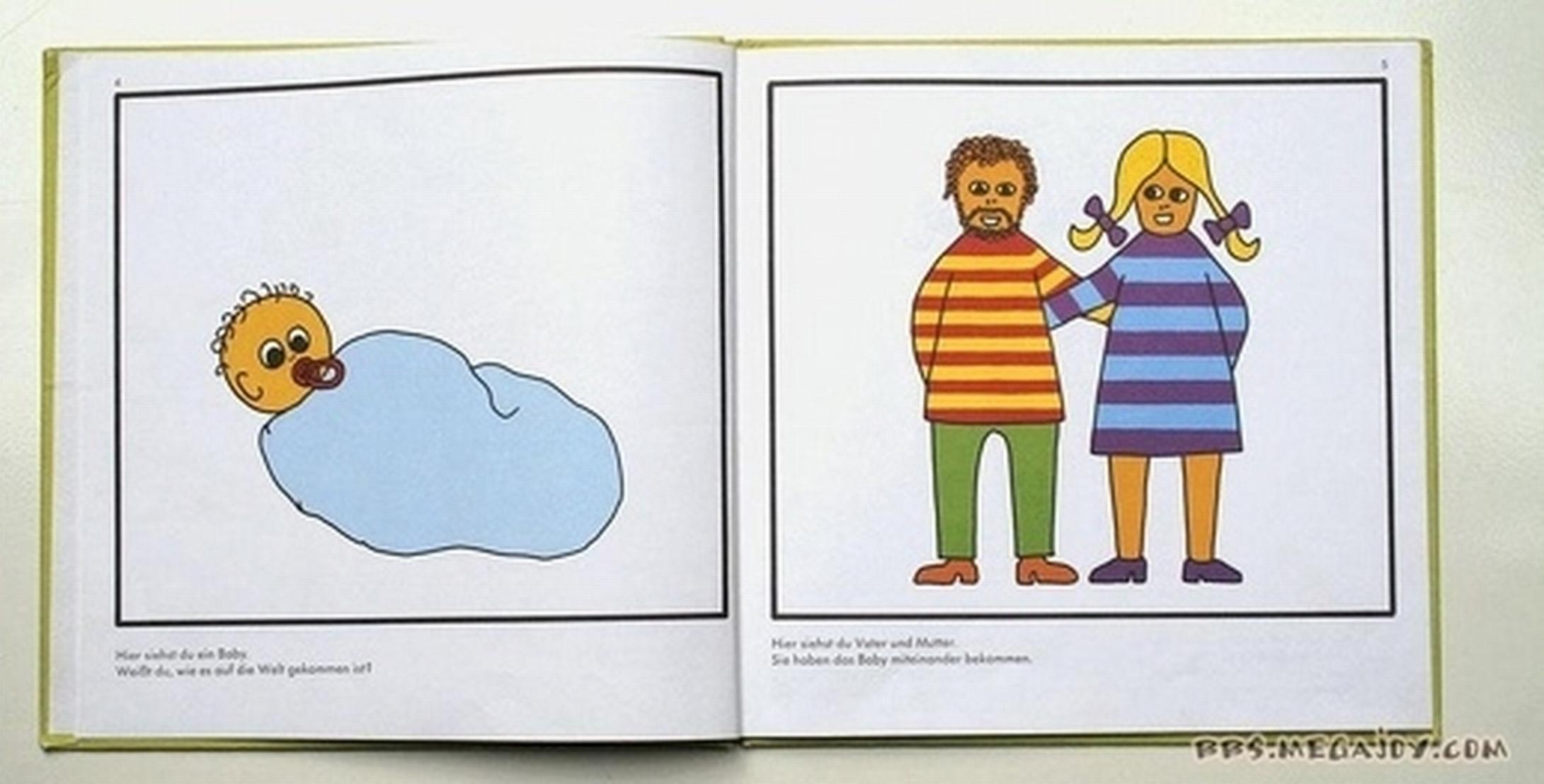 Как появляются дети показать фото